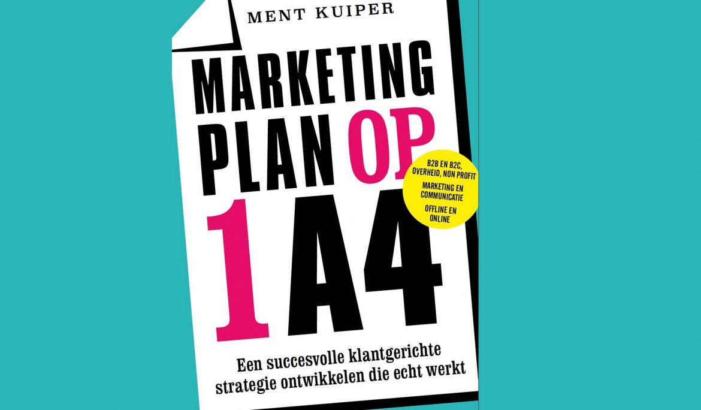 Marketingplan op 1A4